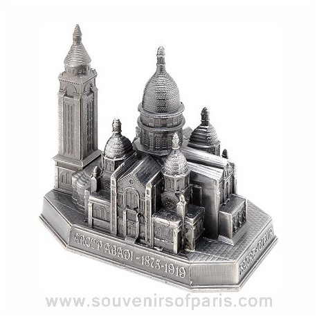 Old Silver Finish Sacre Coeur - Small