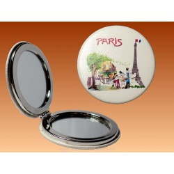 Mirror Breakfast in Paris - Round