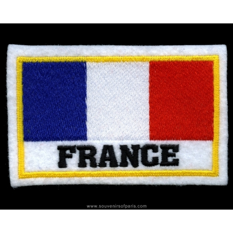 Badge French Flag