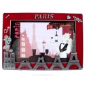Photo frame Construction Red Eiffel Tower